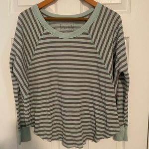 Free People Oversized Thermal Size Small